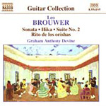 Brouwer: Guitar Works, Vol 3 (CD)