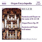 Reger: Organ Works, Vol 3 (CD)