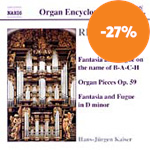 Produktbilde for Reger: Organ Works, Vol 3 (CD)