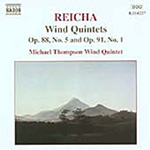 Reicha: Wind Quintets, Op 88 No 5 and Op 99 No 1 (CD)