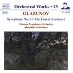 Glazunov: Symphony No. 6; The Forest (CD)