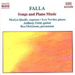 Falla: Songs & Piano Music (CD)