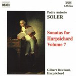 Soler: Harpsichord Sonatas, Volume 7 (CD)