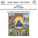 Pierre de la Rue: Mass of the Seven Sorrows of the Blessed Virgin etc (CD)