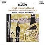 Danzi: Wind Quintets Nos. 1-3 & Sonata Concertante for Horn and Piano (CD)