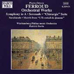 Ferroud: Orchestral Works (CD)