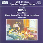 Homs: Piano Music ( vol 2 ) (CD)