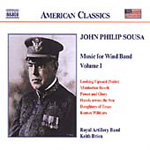 Sousa: Music for Wind Band Vol. 1 (CD)