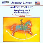 Copland: Symphony No 3; Billy the Kid Suite (CD)