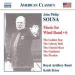 Sousa: Music for Wind Band, Vol 6 (CD)