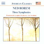 Rorem: Three Symphonies (CD)