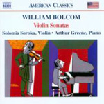 Bolcom: Violin Sonatas (CD)