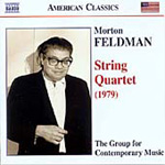 Feldman: String Quartet (CD)