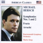 Hersch: Symphonies Nos 1 and 2 (CD)