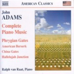 Adams: Complete Piano Music (CD)