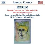 Rorem: Double Concerto. After Reading Shakespeare (CD)