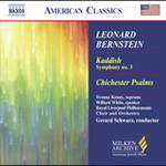Bernstein: Symphony No 3; Kaddish; Chichester Psalms (CD)