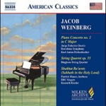 Weinberg: Piano Concerto No 2; String Quartet, Op 55 (CD)