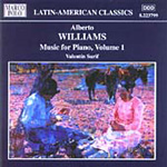 Williams: Piano Music, Vol 1 (CD)