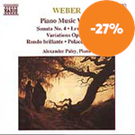 Weber: Piano Works, Vol. 4 (CD)