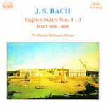 Bach: English Suites Nos 1,2 and 3 (CD)