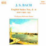 Bach: English Suites Nos 4-6 (CD)