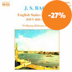 Produktbilde for Bach: English Suites Nos 4-6 (CD)