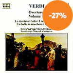 Verdi: Overtures, Volume 1 (CD)