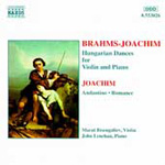 Brahms, arr Joachim: Hungarian Dances etc (CD)