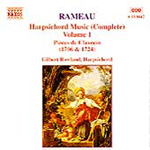 Rameau: Harpsichord Works, Vol 1 (CD)