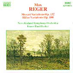 Reger: Orchestral Variations (CD)