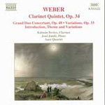 Weber: Clarinet Chamber Works (CD)