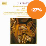 Bach: Chorale Preludes, Volume 1 (CD)
