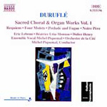 Duruflé: Sacred Choral and Organ Works, Volume 1 (CD)
