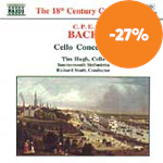 Produktbilde for C.P.E.Bach: Cello Concertos (CD)