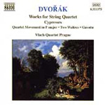 Dvorák: Quartet Movement, B120; Cypresses; Waltzes (CD)