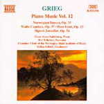 Grieg: Piano Works, Vol.12 (CD)