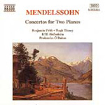 Mendelssohn: Concertos for Two Pianos (CD)