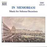 In Memoriam - Music for Solemn Occasions (CD)