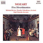 Mozart: Five Divertimentos (CD)