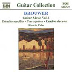 Brouwer: Guitar Music, Volume 1 (CD)