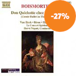 Produktbilde for Boismortier: Don Quichotte chez la Duchesse (CD)