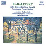 Kabalevsky: Cello Concertos Nos 1 & 2; Spring (CD)