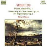 Sibelius: Piano Works, Vol 1 (CD)
