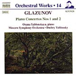 Glazunov: Piano Concertos 1 & 2 (CD)