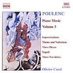 Poulenc: Piano Works, Volume 3 (CD)