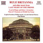 "Rule Britannia and other music from the ""Last Night of the Proms"" (CD)"