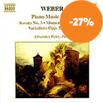 Weber: Piano Works, Vol. 3 (CD)