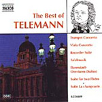 Telemann: The best of Telemann (CD)