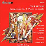 Ruders: Symphony No 2; Piano Concerto (CD)
